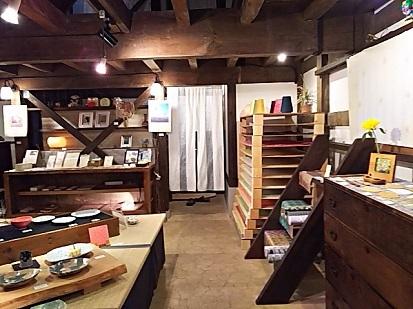 伝統工芸品の店