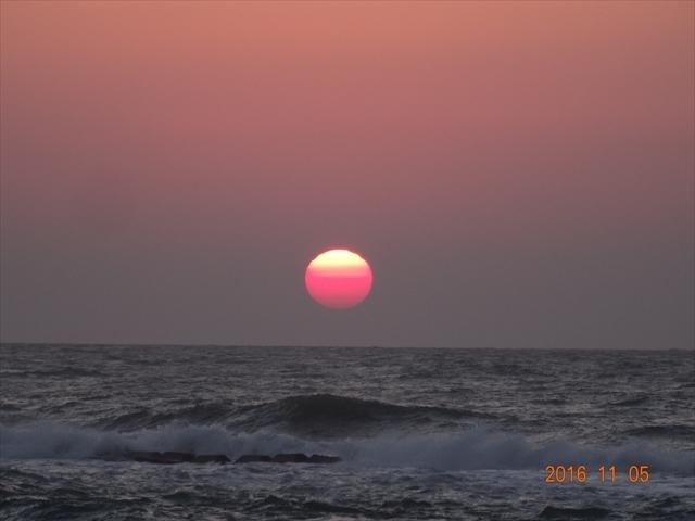 日没 石川 2