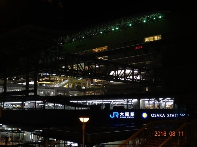 大阪駅 夜景(16)