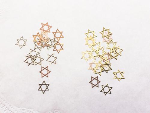ネイルパーツ:六芒星