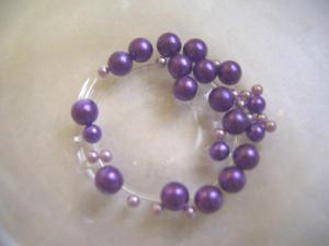 穴無しパール:紫系