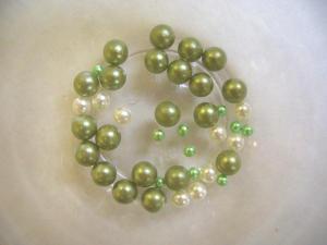 穴無しパール:緑系