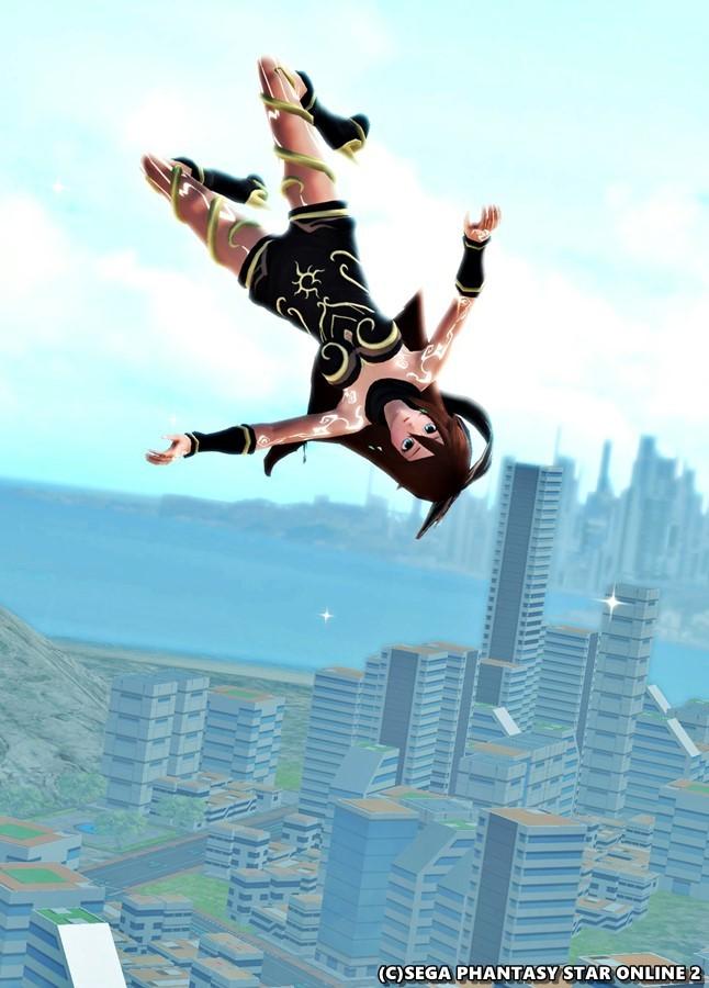重力操作で空中浮遊だキトゥンさん♪