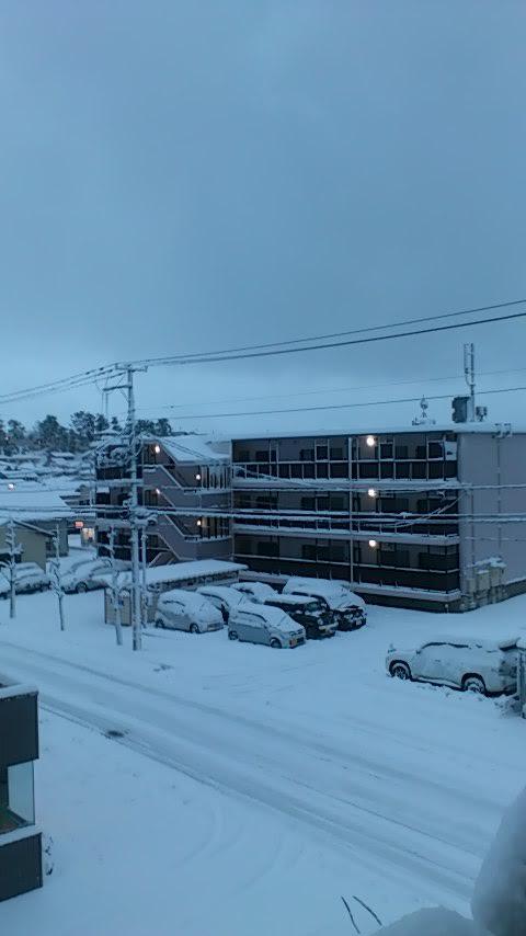 雪のオフィス