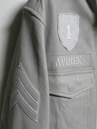 AVIREX M65 レザージャケット