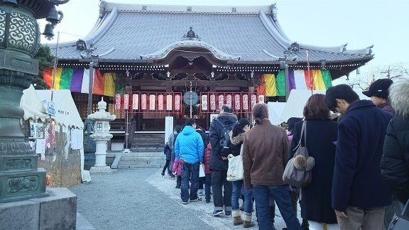 本覚寺の参拝