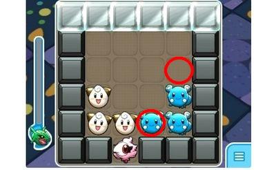 【ポケとる】506 トゲピー 攻略 パズルの解答一例