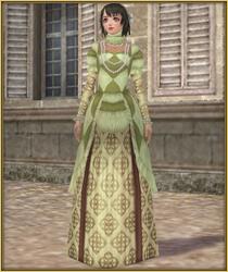 功労者のドレス公式