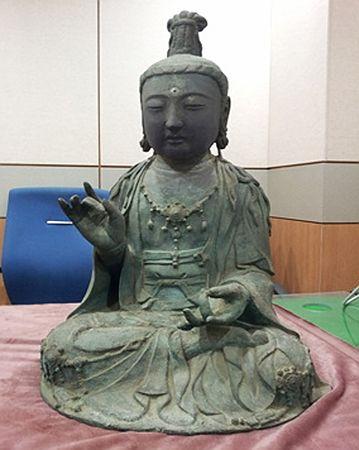 「観世音菩薩坐像」