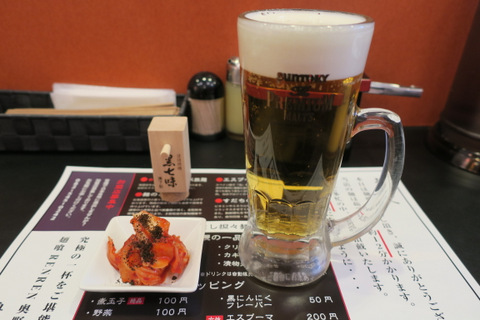 RENREN 奥野製麺所(ビール・キムチ)