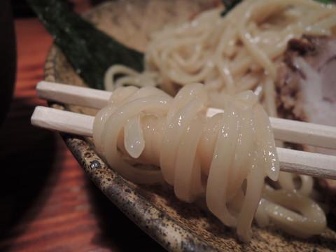 塩つけ麺の麺