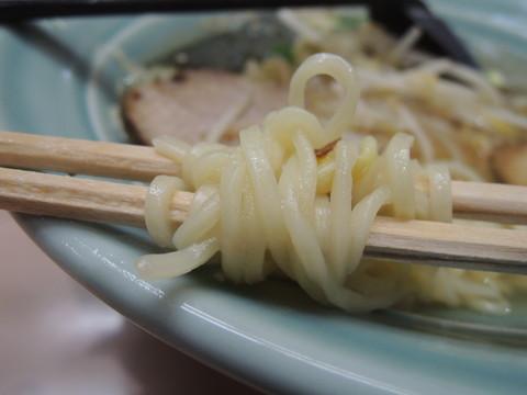 大陸ラーメン(あっさり塩味)の麺