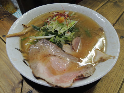 蟹塩そば(名物)(750円)