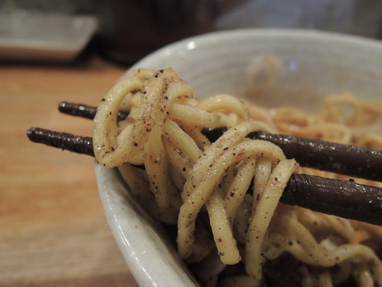 和え玉(DX替玉)の麺