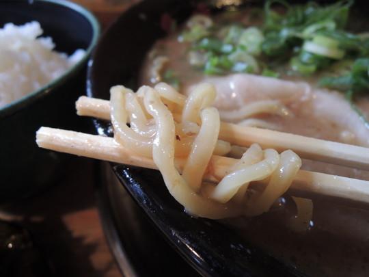 純とんこつラーメンの麺