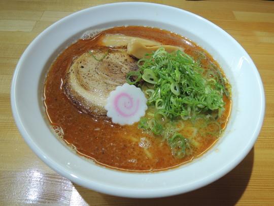 海老そば(750円)
