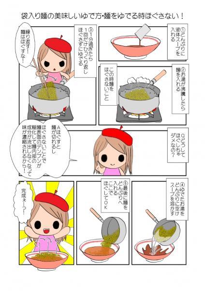 【画像】袋麺の1番美味い作り方wwwwwwwwwwwwwww