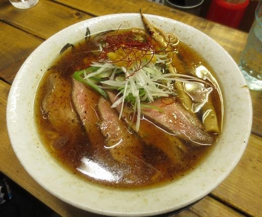 鴨中華そば(¥800)