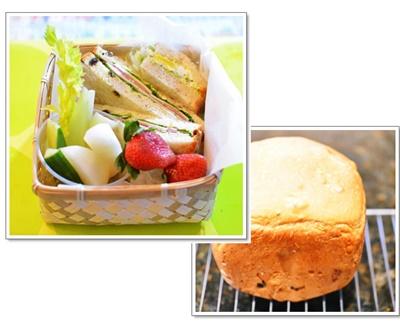 パンでお弁当