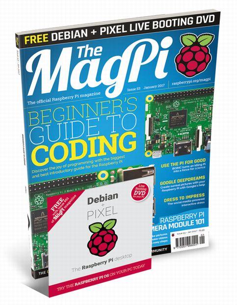 20161223a_MagPi53 Debian PIXEL DVD_01