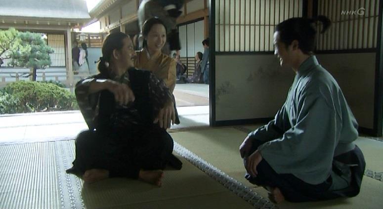 毛利勝永と妻と毛利勝家 真田丸