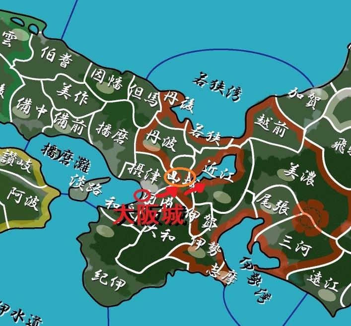 京から近江へ 地図