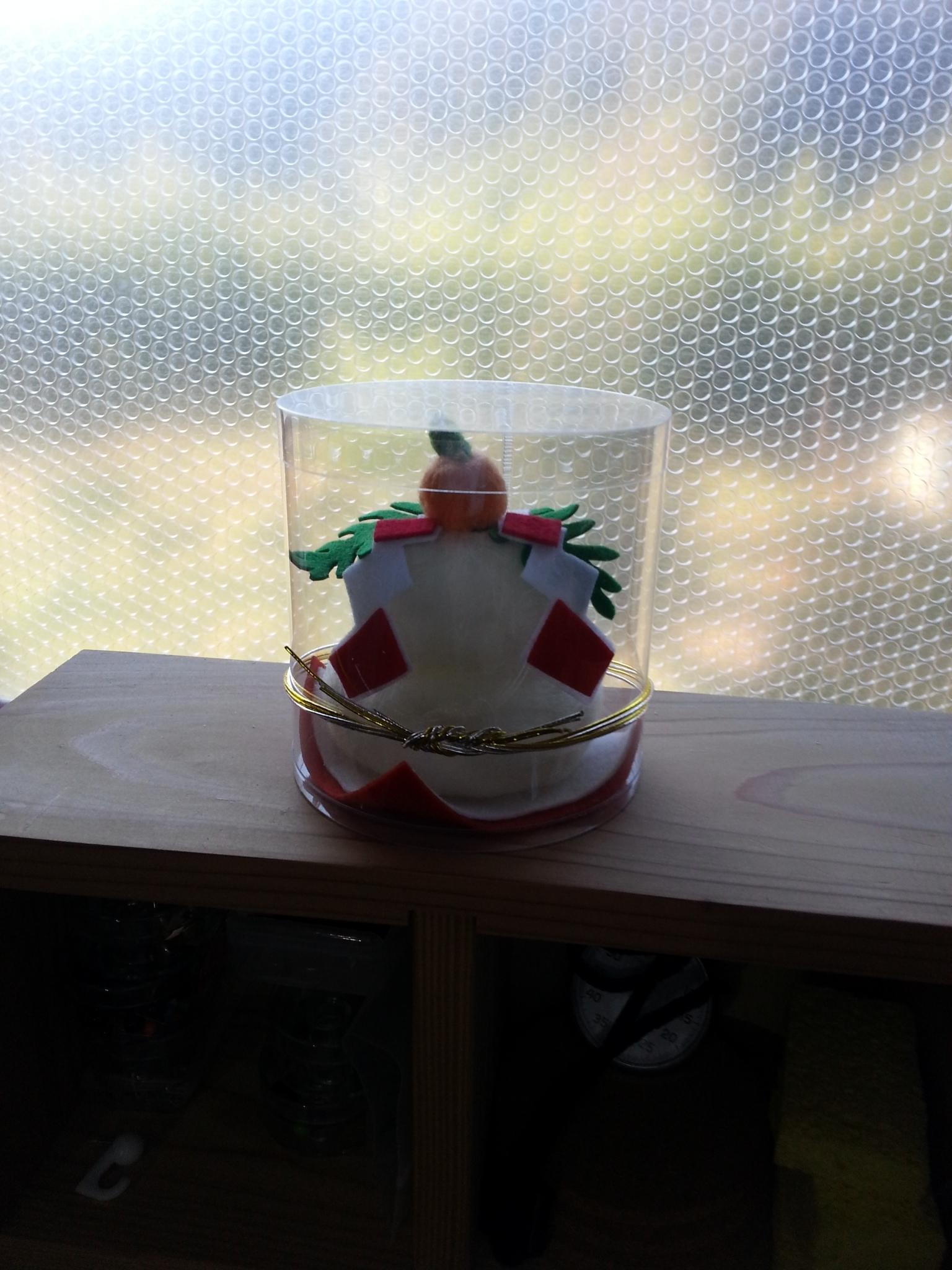 鏡餅(小)プラケース