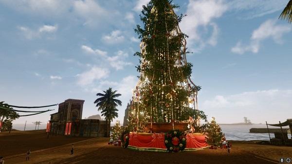12月21日オースのツリー