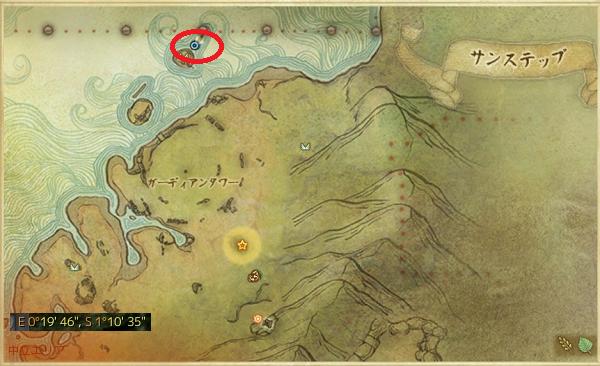 1月21日4つ目の秘境 MAP
