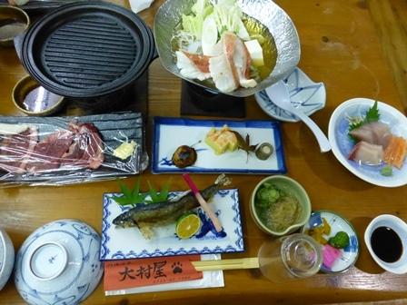 大村屋夕食5