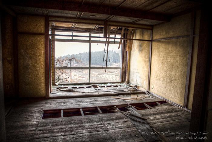 坪野鉱泉の客室