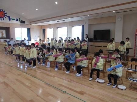 20161213 発表会の練習 (花合奏)