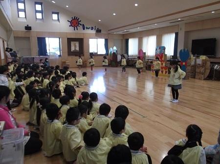 20161212 発表会の練習 (花キッチン)