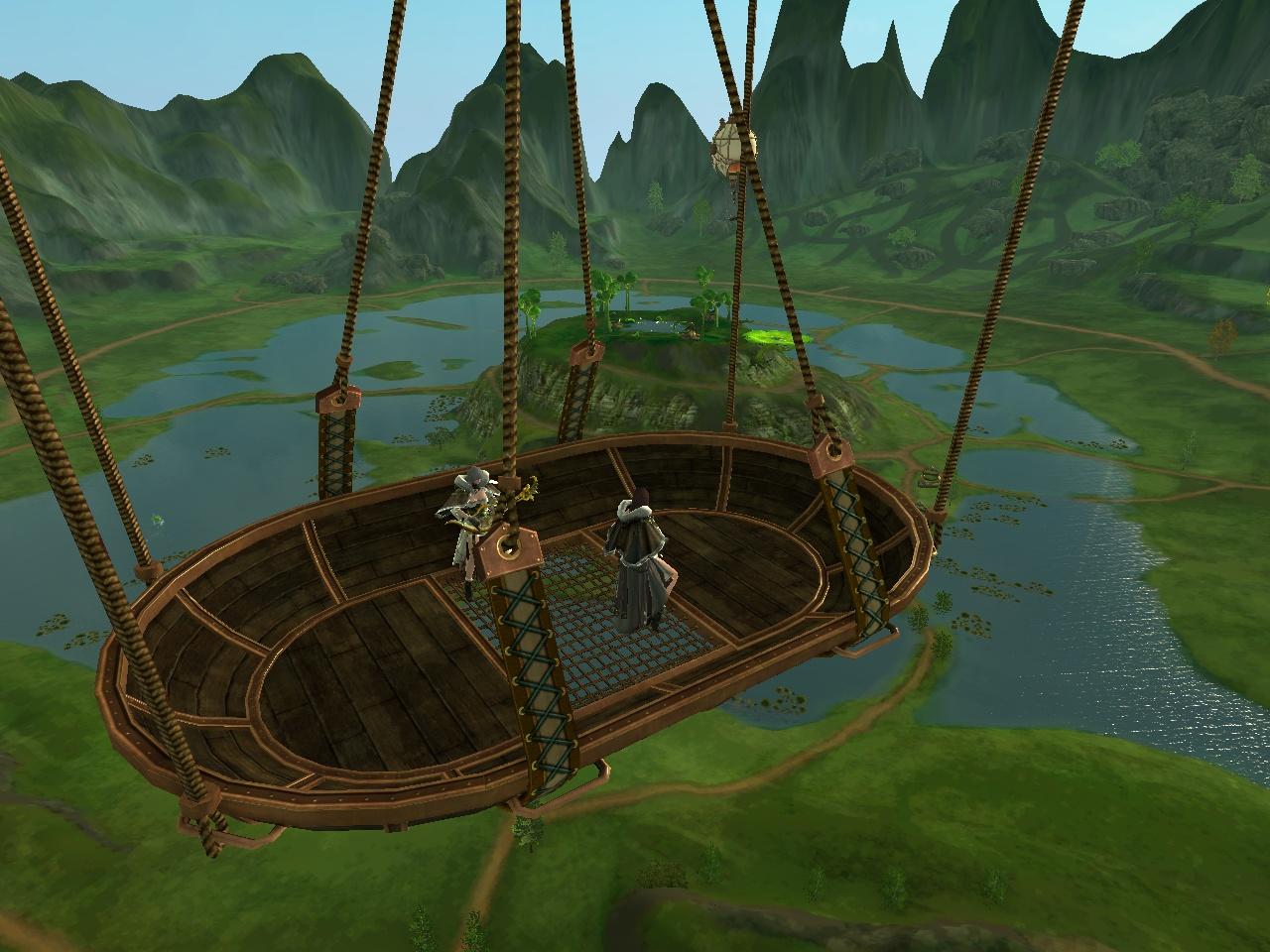 ハヌイの気球