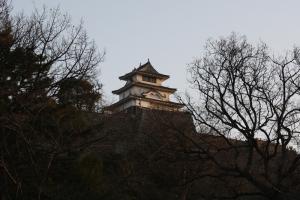 17夕方の丸亀城3