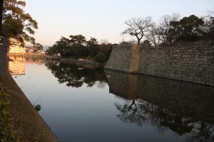 17夕方の丸亀城4
