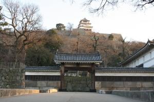 17夕方の丸亀城2