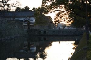 17夕方の丸亀城7