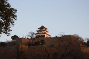 17夕方の丸亀城9