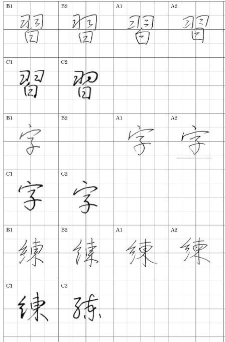 漢字比較1