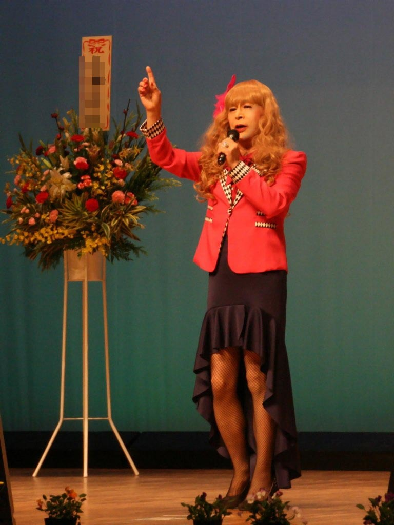 ピンクジャケットマーメイドスカート舞台C(6)