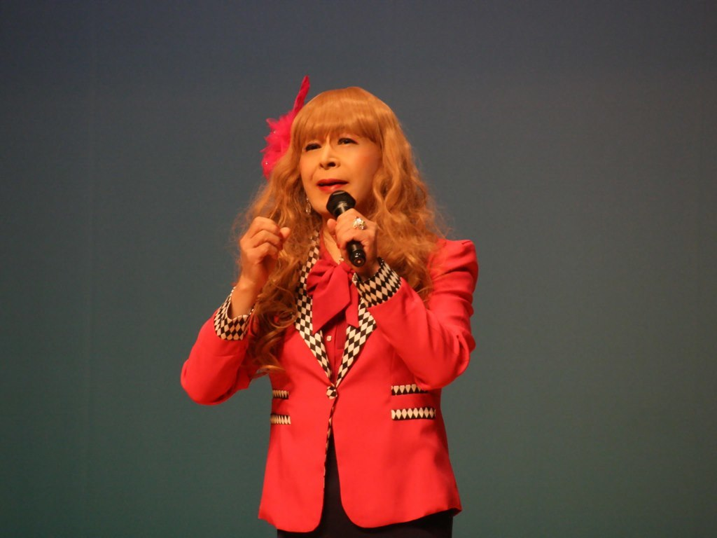 ピンクジャケットマーメイドスカート舞台C(7)