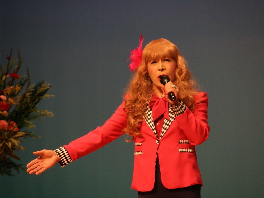 ピンクジャケットマーメイドスカート舞台C(9)