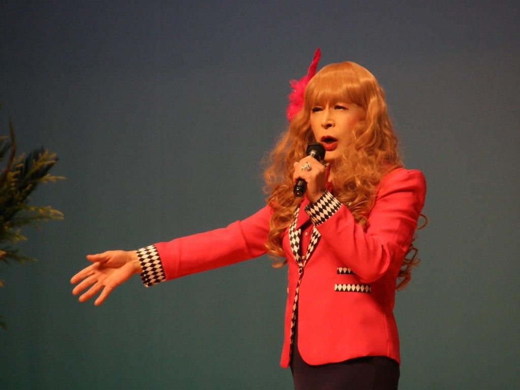 ピンクジャケットマーメイドスカート舞台C(11)