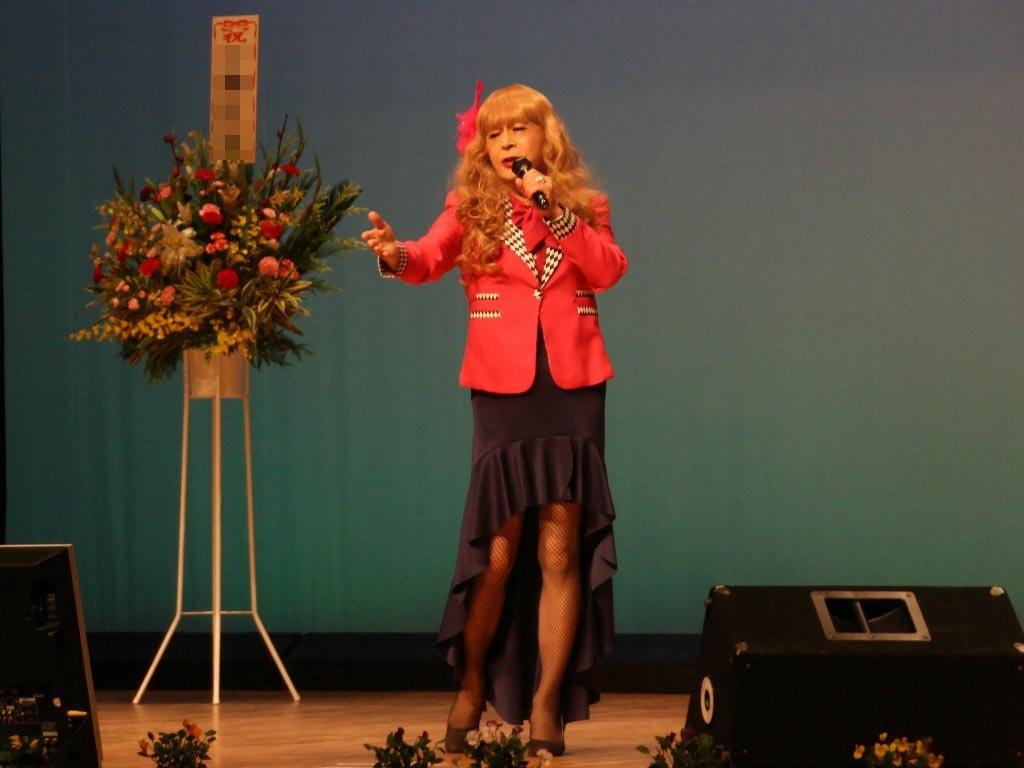 ピンクジャケットマーメイドスカート舞台C(13)