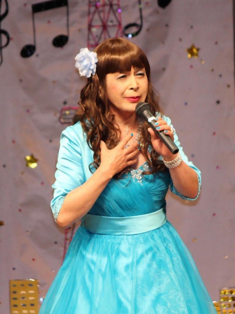 水色ドレス舞台(2)