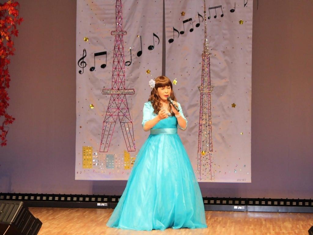 水色ドレス舞台(5)