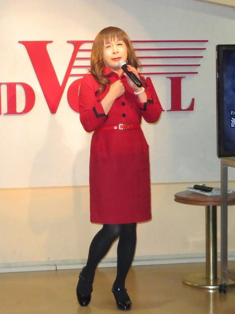 黒ボタン赤ワンピカラカケ(1)