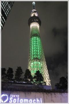 H28122233東京スカイツリープロジェクションマッピング