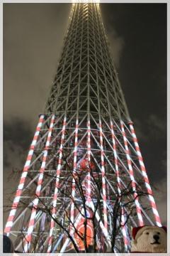 H28122235東京スカイツリープロジェクションマッピング